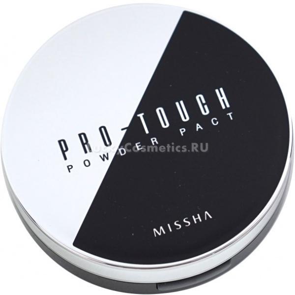 Missha ProTouch Powder Pact SPFPAКомпактная пудра для лица Pro-Touch Powder Pact станет идеальным заверщающим штрихом как повседневного, так и вечернего макияжа. Пудра имеет натуральные оттенки бежевого, схожие со цветом человеческой кожи.<br><br>Невесомая и бархатная текстура, созданная на основе натуральных материалов, мягко ложится на кожу. Средство маскирует небольшие складки и возрастные морщинки. Кожа приобретает ровный и полностью натуральный тон, отсутствует эффект так называемой маски.<br><br>Изюминкой компактной пудры считается сильная фиксация, позволяющая не беспокоится о макияже на протяжении всего дня. При этом кожа дышит, поскольку пудра не забивает поры.<br><br>В состав косметического средства входят натуральные экстракты цветов. Они оказывают мягкий ухаживающий эффект, не вызывая раздражения чувствительной кожи и при этом поддерживая её увлажненной. Благодаря этому компактная пудра от Missha подходит ко всем типам кожи и не имеет возрастных ограничений.<br><br>&amp;nbsp;<br><br>Объём:&amp;nbsp;10&amp;nbsp;гр.<br><br>&amp;nbsp;<br><br>Способ применения:<br><br>Нанести кистью мягкими растушевывающими движениями на лицо с подготовленной базой, например, с увлажняющим кремом.<br>