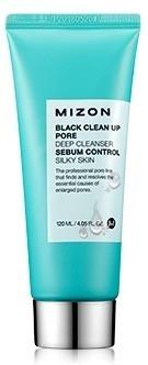 Mizon Black clean up pore deep cleanser фото