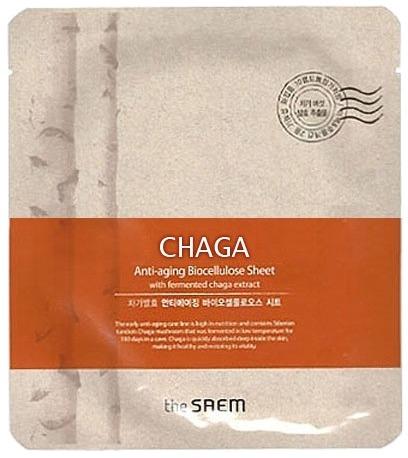 The Saem Chaga Antiaging Biocellulose Sheet фото