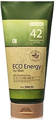 The Saem Eco Energy For Men Mild Cleansing Foam фото
