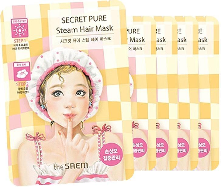Маска для волос The Saem Secret Pure Steam Hair Mask