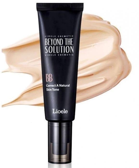 Lioele Triple The Solution BB Cream SPFPAББ крем с тройным эффектом от Lioele отличный продукт для жирной и комбинированной кожи любого возраста. Triple The Solution BB Cream SPF30/PA++ обладает способностью слегка отбеливать кожу, защищать от вредного влияния солнечных лучей, а также оказывает эффективное антивозрастное действие. Высокие солнцезащитные свойства бб крема прекрасно подходят для кожи в условиях европейского лета.<br><br>Высокая стойкость крема и плотное покрытие обеспечивают красивый, равномерный макияж без закупоривания пор и создания эффекта маски. Основа великолепно преображает кожу, скрывает различные изъяны на лице - круги усталости под глазами, постакне, расширенные поры, покраснения и пигментные пятна. При необходимости создания покрытия более высокой плотности, крем беспрепятственно можно наслаивать, от этого его визуальные характеристики не пострадают.<br><br>Этот бб крем с тройной функцией создан в единственном универсальном оттенке, он прекрасно подстраивается практически под любой тон кожи, придает ей натуральный вид и естественное свечение &amp;ndash; предназначен для применения любых возрастных категорий.<br><br>Основное действие крема обусловлено следующими ингредиентами:<br><br><br>Экстракт лакрицы &amp;ndash; оказывает выраженное противовоспалительное действие, избавляет от угрей, защищает от их дальнейшего проявления. Также приостанавливает выработку меланина и появление нв лице пигментных пятен, отбеливает, и успокаивает воспаленную кожу.<br>Гиалуронат натрия и коллаген &amp;ndash; насыщают кожу влагой, обновляют ее, повышают регенеративную функцию и эластичность.<br>Токоферол (витамин Е) &amp;ndash; один из основных элементов здорового функционирования кожи. Действует как антиоксидант, поддерживает выработку эластина и коллагена, ускоряет регенеративный процесс, смягчает и обновляет кожу.<br>Аденозин &amp;ndash; поддерживает молодость, эластичность, повышает тургор кожи. Приостанавливает процессы старения.<br>Пчелиный воск &amp;nda