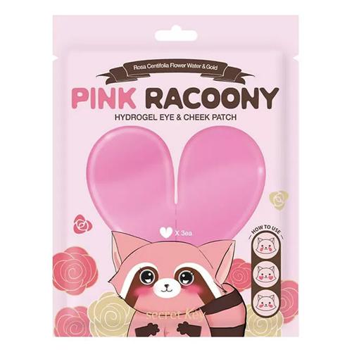 Secret Key Pink Racoony Hydrogel Eye And Cheek Patch Sachet