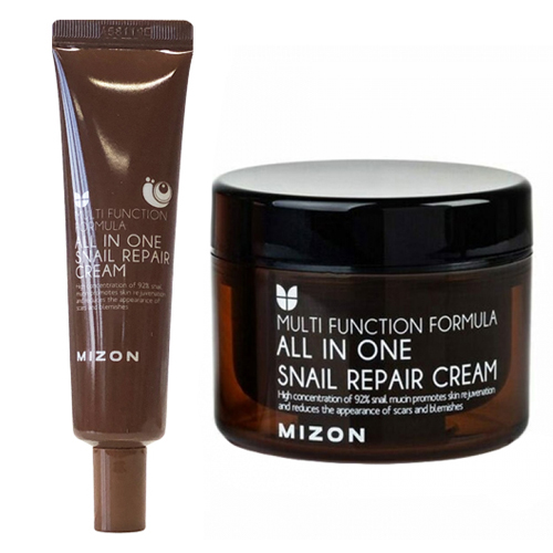 Mizon All In One Snail Repair Cream фото