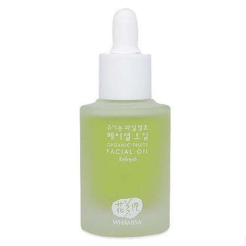 Whamisa Organic Fruits Facial Oil Refresh Natural Fermentation.