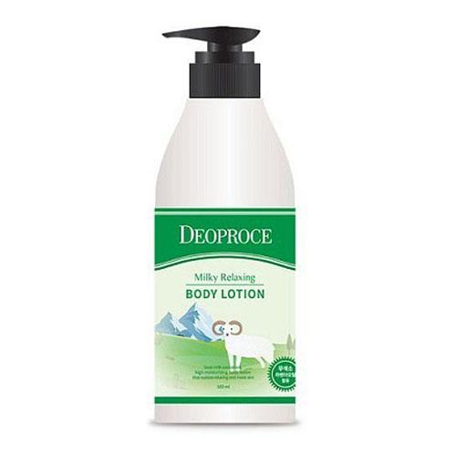 Deoproce Milky Relaxing Body Lotion фото