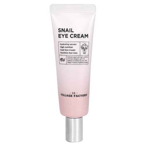 Купить Village Factory Snail Eye Cream, Village 11 Factory