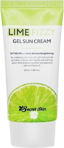 Secret Skin Lime Fizzy Gel Sun Cream фото