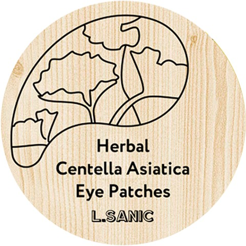 LSanic Herbal Centella Asiatica Hydrogel Eye Patches фото