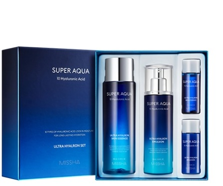 Missha Super Aqua Ultra Hyalron Set II