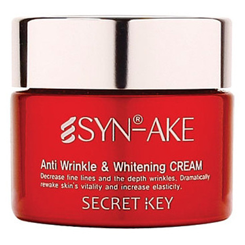 Secret Key SynAke Anti Wrinkle and Whitening Cream фото