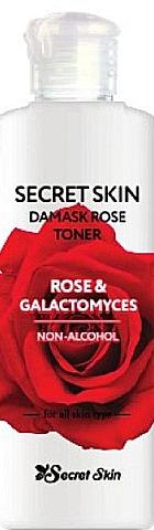 Secret Skin Damask Rose Toner Rose and Galactomyces фото
