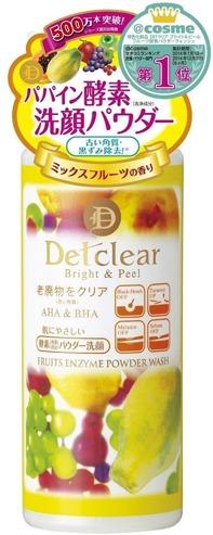 Meishoku Detclear A and  Fruits Enzyme
