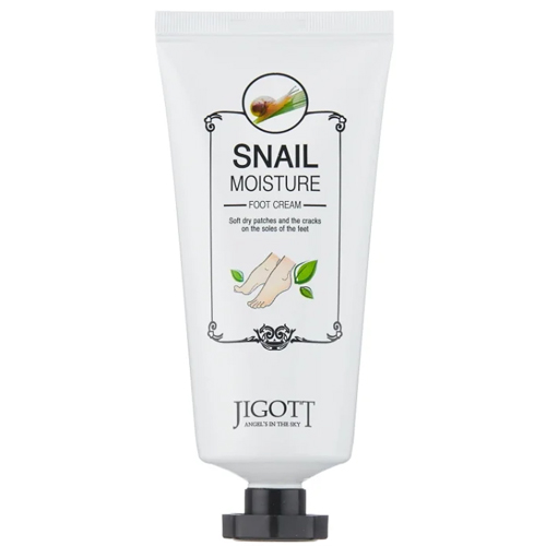 Jigott Snail Moisture Foot Cream