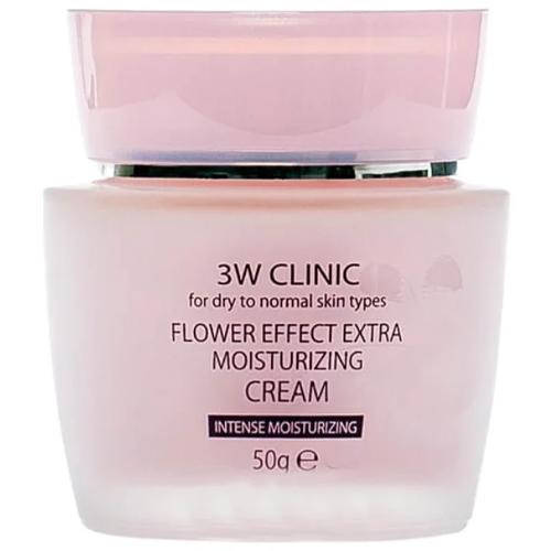 Купить W Clinic Flower Effect Extra Moisturizing Cream, 3W Clinic