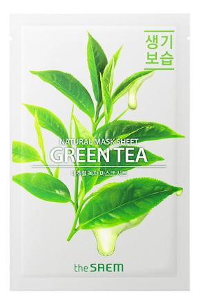 The Saem Natural Green Tea Mask Sheet фото