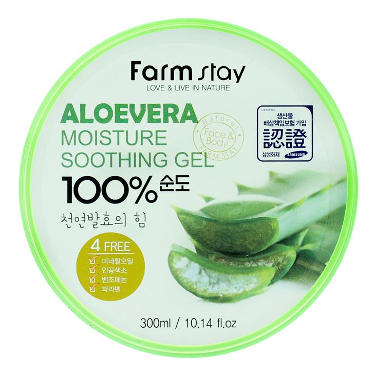 FarmStay Aloevera Moisture Soothing Gel