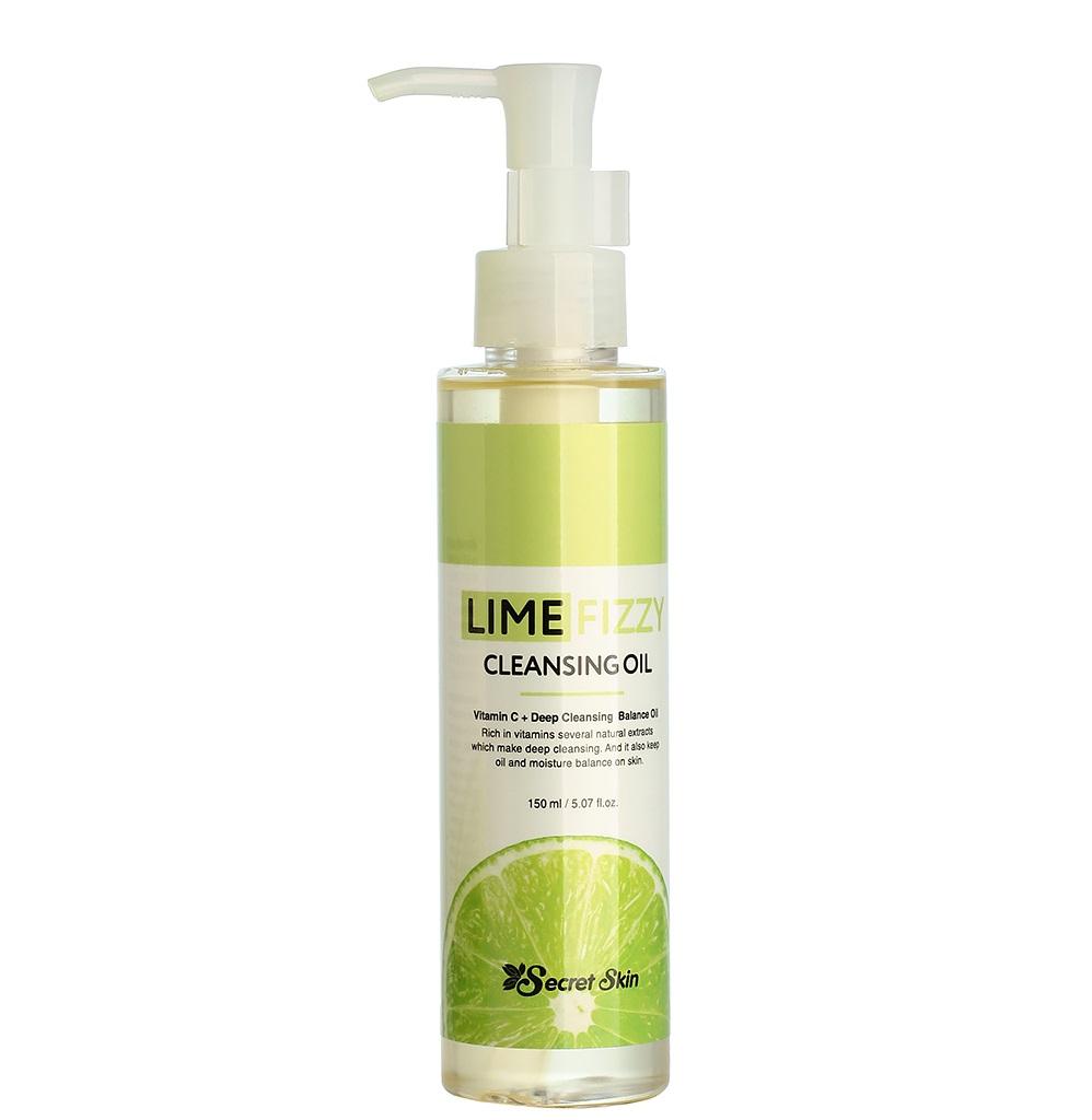 Secret Skin Lime Fizzy Cleansing Oil фото