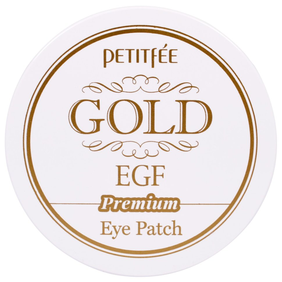 Petitfee Hydro Gel Eye Patch Premium Gold and EGF фото
