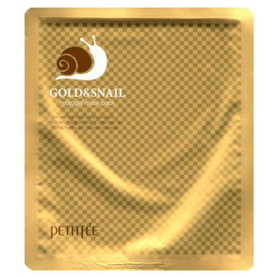 Petitfee Gold amp Snail Hydrogel Mask Pack фото
