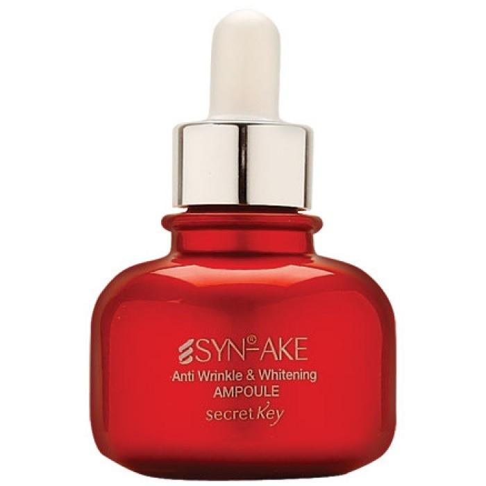Secret Key SynAke Anti Wrinkle and Whitening Ampoule