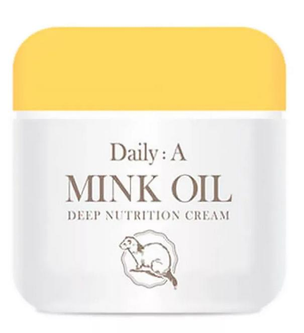 Deoproce Daily A Mink Oil Deep Nutrition Cream фото
