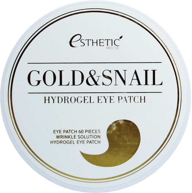 Esthetic House Gold And Snail Hygrogel Eyepatch фото