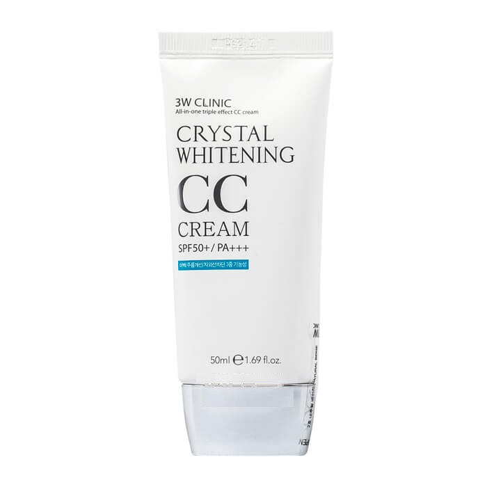 W Clinic Crystal Whitening CC Cream