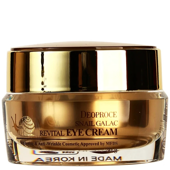 Deoproce Snail GalacTox Revital Eye Cream