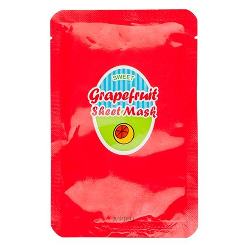 Купить Apieu Grapefruit And Sparkling Sheet Mask, A'Pieu