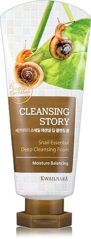 Welcos Cleansing Story Snail Essential Deep Cleansing Foam фото