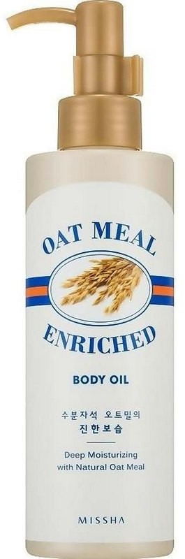 Missha Oat Meal Enriched Body Oil
