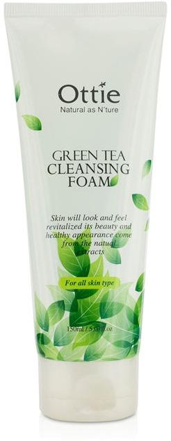 Ottie Green Tea Cleansing Foam фото