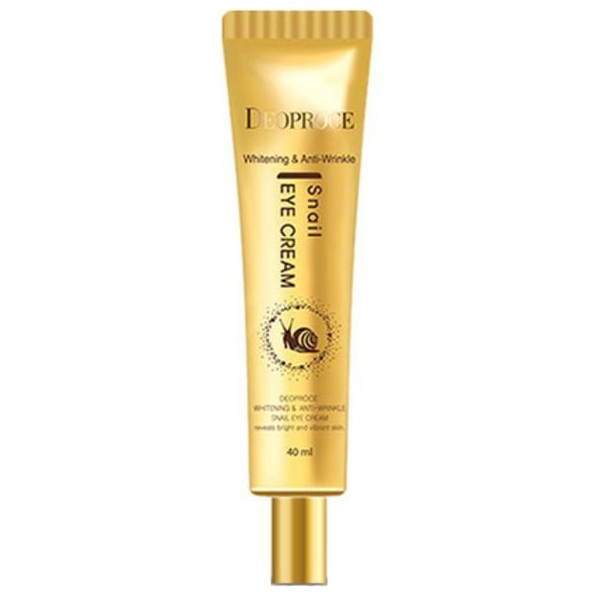 Купить Deoproce AntiWrinkle And Whitening Snail Eye Cream