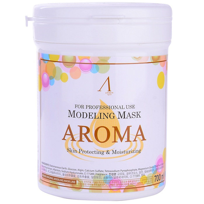 Anskin Modeling Aroma Mask container