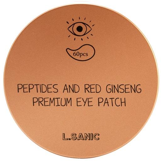 Купить LSanic Peptides and Red Ginseng Premium Eye Patch, L'Sanic