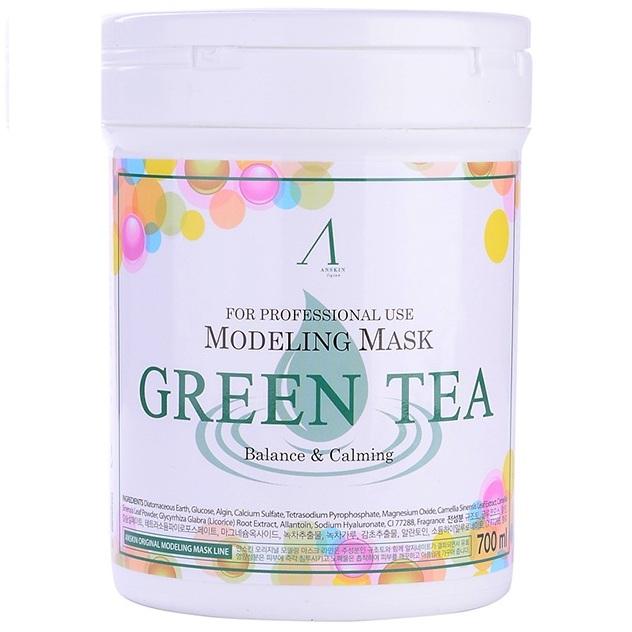 Anskin Grean Tea Modeling Mask  container