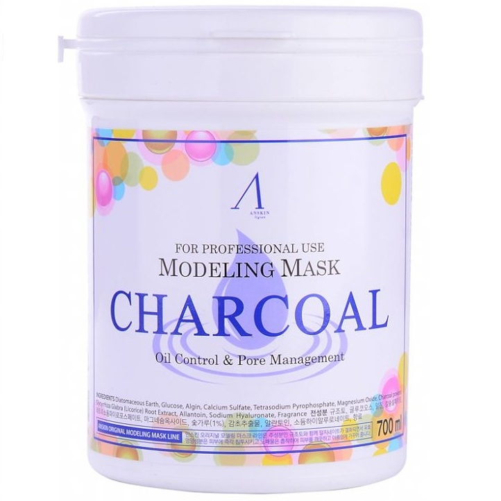 Anskin Charcoal Modeling Mask Container фото