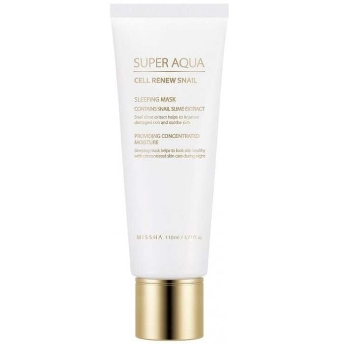Купить Missha Super Aqua Cell Renew Snail Sleeping Mask