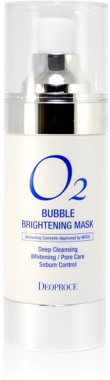 Deoproce O Bubble Brightening Mask -  Для лица
