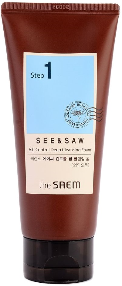 The Saem See amp Saw AC Control Deep Cleansing Foam