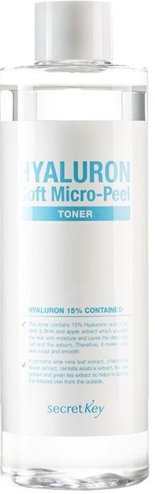 Secret Key Hyaluron Soft MicroPeel Toner