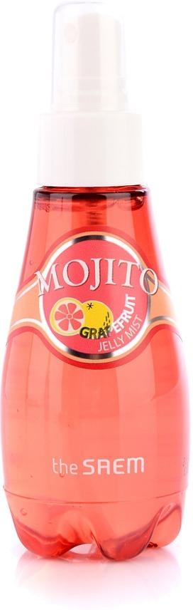 The Saem Mojito Grapefruit Jelly MistЭтот мист представляет из себя продукт, необходимый каждой женщине, ведь его использование обеспечит великолепный уход за кожей всех типов. Средство гелевой текстуры, он легко и удивительно быстро впитывается в кожу, исключая любую липкость и дискомфорт. Положительный эффект от его применения обеспечивается благодаря его богатому составу, насыщенному растительными компонентами. В содержание миста включены такие потрясающие ингредиенты, как вытяжки грейпфрута, зеленого чая, портулака, а также водный настой лилии и минеральная вода. Вытяжка грейпфрута наполняет клеточки эпидермиса жизненной энергией и витаминами, повышая его тонус, эластичность и улучшая тон лица. Вытяжки портулака и зеленого чая оказывают бактерицидное, успокаивающее, осветляющее, а также антивоспалительное действие. Настой лилии и минеральная вода безупречно увлажняют кожу, разглаживая присутствующие морщинки, а также устраняя сухость и шелушения. Курс применения такого средства обеспечит эффективный уход за кожей, что позволит улучшить ее внешний вид, а также сделать здоровой, красивой и сияющей. Станьте обладательницей безупречной кожи, используя этот мист от бренда The Saem!Объём: 100 млСпособ применения:Продукт необходимо использовать 2 раза в сутки, нанося его в необходимом количестве на очищенную кожу.<br>
