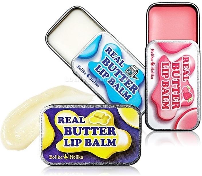 Holika Holika Real Butter Lip Balm  Real