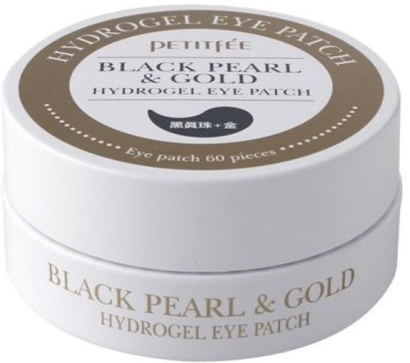 Petitfee Black Pearl amp Gold Hydrogel Eye Patch  sheetЕсли ваш крем для век не приносит стоящих результатов, тогда вам следует обратить свое внимание на корейскую новинку &amp;ndash; гидрогелевые патчи для области вокруг глаз. Это экспресс-средство красоты дает моментальный результат и имеет накопительный эффект.<br><br>Патчи удобны в применении и обеспечивают интенсивный уход, благодаря гидрогелю. Пропитка пластырей содержит золото и жемчужную пудру, которые стимулируют кровообращение и возвращают коже здоровый и ухоженный внешний вид. Формула средства богата экстрактами полыни, мандарина и зеленого чая. Их комплексное действие направлено на омоложение кожи, устранение отеков и мешков под глазами.<br><br>Анатомическая форма патчей позволяет им охватить всю область под глазами &amp;ndash; от внешнего до внутреннего уголка глаза. После процедуры взгляд становится более выразительным и свежим. Регулярное использование средства позволяет избавиться от &amp;laquo;гусиных лапок&amp;raquo; и чрезмерной сухости кожи.<br><br>Антисептическое и противовоспалительное действие патчей обусловлено содержанием в эссенции натуральных экстрактов лаванды, камелии, розмарина и розы, клеточных компонентов аденозина и коллагена. Упаковки патчей вам хватит на 30 процедур. Чтобы добиться тонизирующего охлаждающего эффекта пластыри перед применением следует поместить в холодильник.<br><br>&amp;nbsp;<br><br>Объём: 1 уп. - 60 шт<br><br>&amp;nbsp;<br><br>Способ применения:<br><br>С помощью пластиковой ложки извлеките пластыри из упаковки. Наклейте их на область под глазами. Оставьте действовать на 30 минут. Снимите патч, а остаткам средства дайте полностью впитаться.<br>