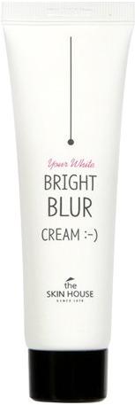 The Skin House Bright Blur CreamБлюр-крем для лица от корейского бренда The Skin воплощает в реальность самые смелые мечты об идеальной коже. Эффект фотошопа достигается благодаря микрочастицам, которые рассеиваясь, отражают лучи света по всем направлениям. После нанесения крема кожа становится невероятно гладкой, ровной и чистой на вид.<br><br>Блюр-крем могут взять себе на вооружение обладательницы всех типов кожи. Он способен любую кожу превратить в ухоженную и свежую. Также средство может похвастаться своими уходовыми свойствами. Мощный комплекс компонентов омолаживает и оздоравливает.<br><br>Муцин улитки увлажняет, успокаивает, тонизирует кожу лица. Она становится мегаупругой и эластичной. Фильтрат предотвращает появление рубцов и пятен постакне, которые так портят внешний вид кожи. Ниацинамид в составе блюр-средства отвечает за коррекцию неоднородного тона кожи. Этот мощнейший регулятор клеточного обмена ускоряет выработку коллагена и керамидов, а также предотвращает обезвоживание.<br><br>Также косметический продукт всеми силами борется с последствиями старения. Аденозин, входящий в крем, уменьшает выраженность морщинок, предотвращает появление очередных складочек и запускает восстановительные процессы.Объём: 50 млСпособ применения:Крем нанесите на чистую кожу лица, уделяя внимание проблемным зонам. Дайте ему впитаться.<br>
