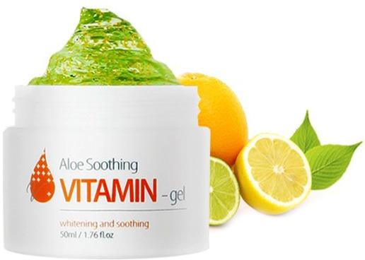 The Skin House Aloe Soothing Vitamin Gel -  Для лица