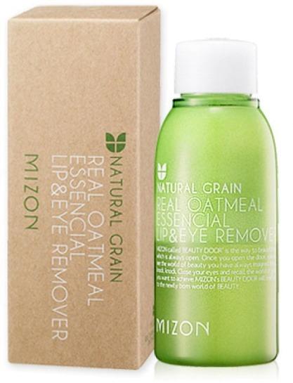 Mizon Real Oatmeal Essential Lip and Eye Remover -  Для лица -  Очищение