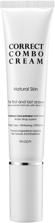 Mizon Correct Combo cream Natural Skin Tube