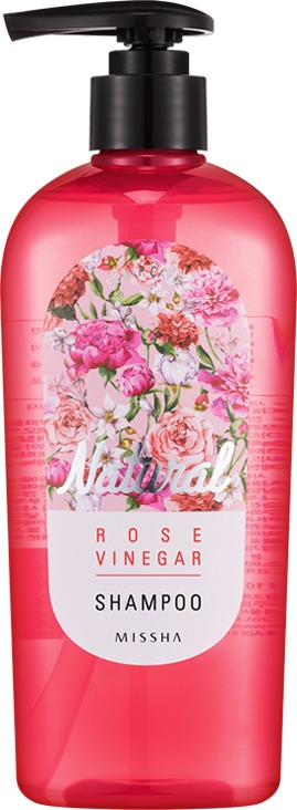 Missha Natural Rose Vinegar Shampoo
